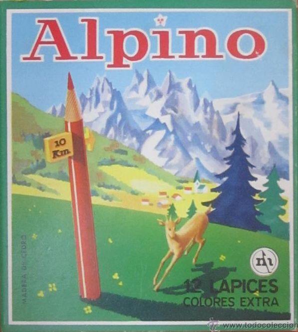 Propongo las cajas de lápices ALPINO como indicador de cambio climático. Comparación de una de 1970 y una actual :-) https://t.co/8ftMCz0PQ0