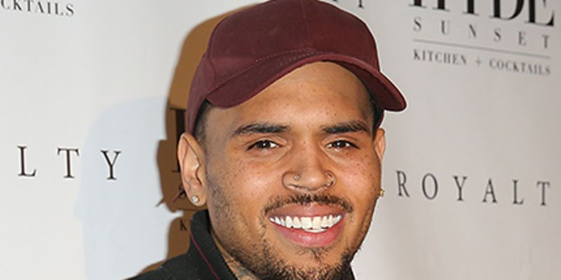Chris Brown appears to take partial credit for Donald Trump canceling