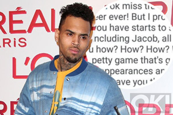 Chris Brown lashes out at ex Karrueche Tran in an INSANE Instagram feud!