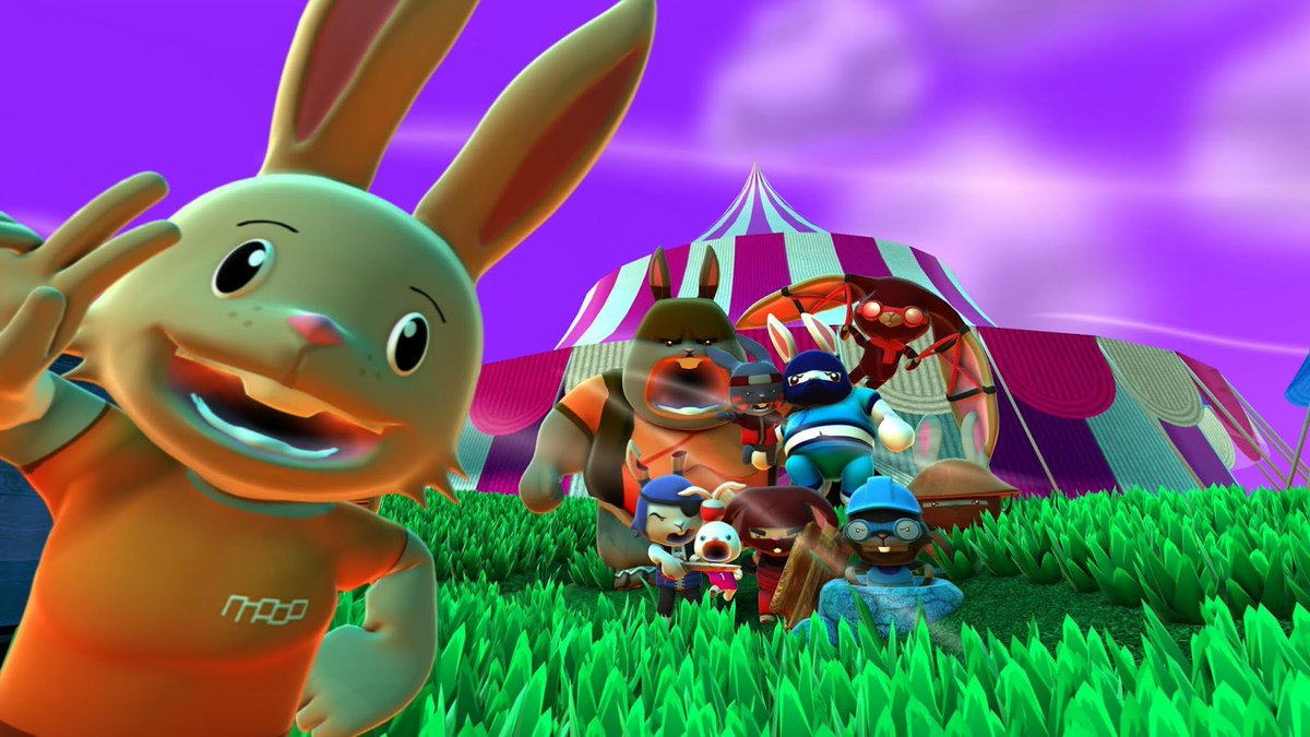 Still time to win a couple of copies of Blast 'Em Bunnies for #PS4. Follow then RT to win. Hop to it. https://t.co/wW581Ybh84