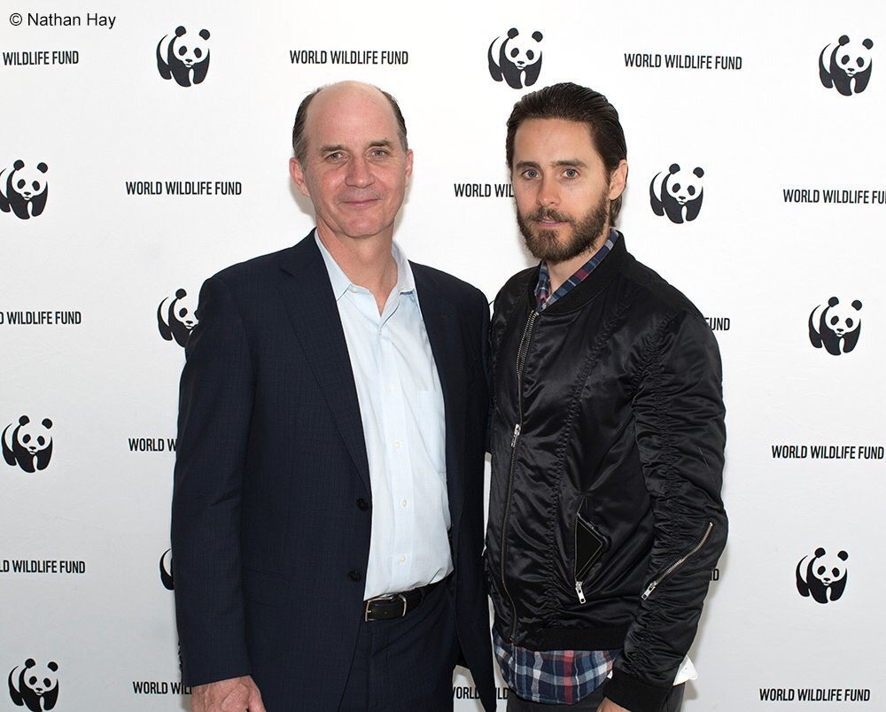 RT @World_Wildlife: How @JaredLeto & @Carter_Roberts joined together on #worldwildlifeday to tackle poaching: https://t.co/25RV8e0FLx https…