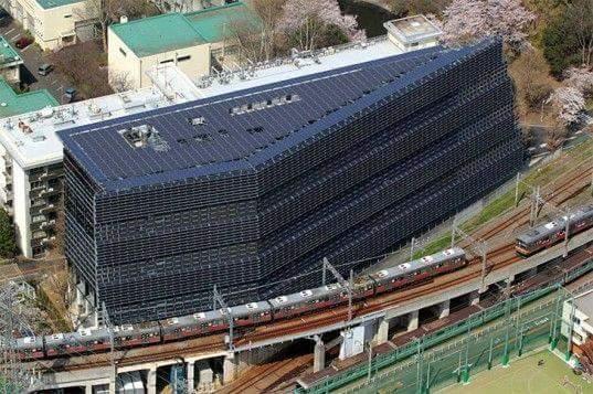 El Instituto Tecnológico de Tokio y sus 4.500 paneles solares! Sorprendente! https://t.co/d3oo4Ucsav