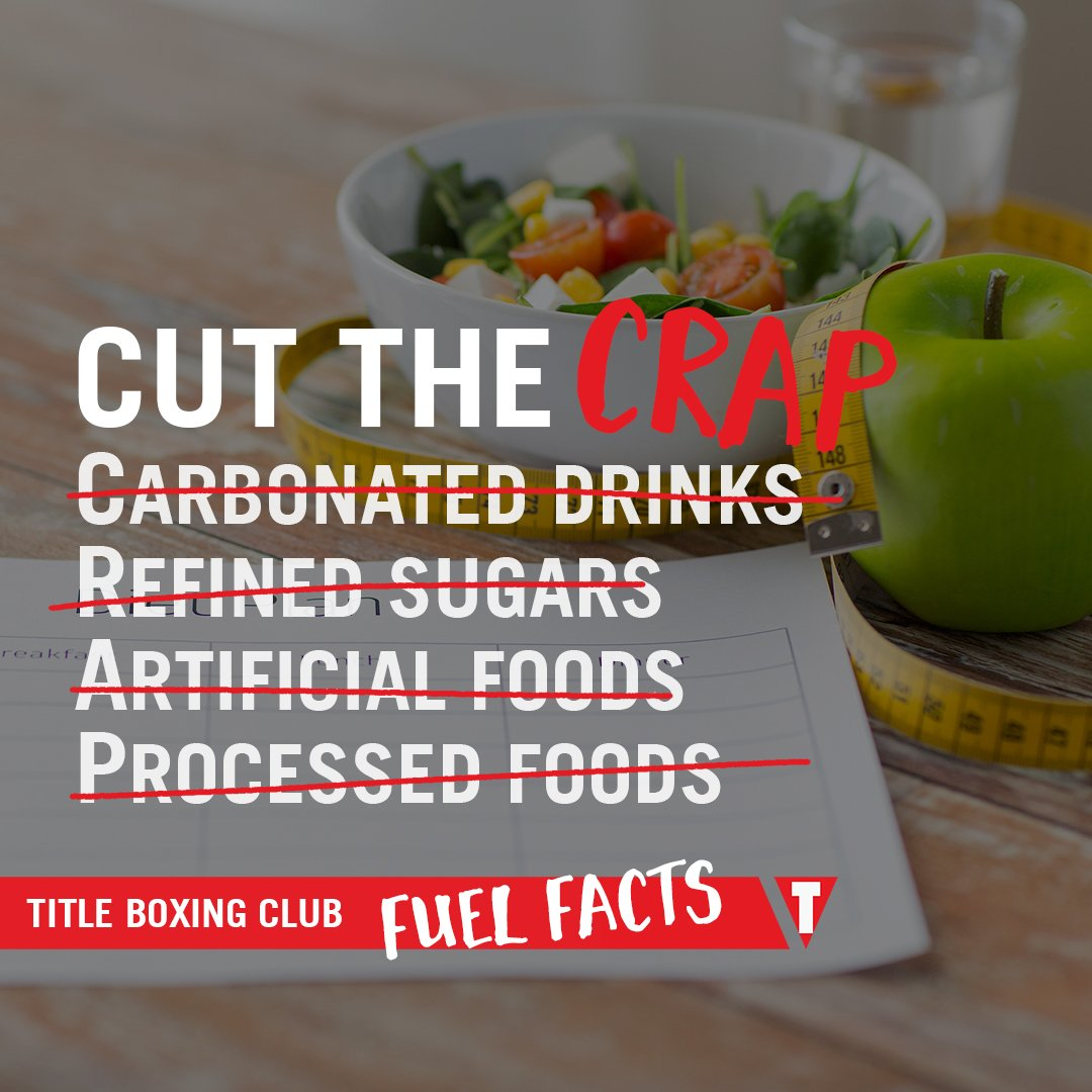 When you finally cut the CRAP, you'll see amazing body benefits. Don't forget your Power Hours, too! #fuelfacts https://t.co/ruztW778ZG