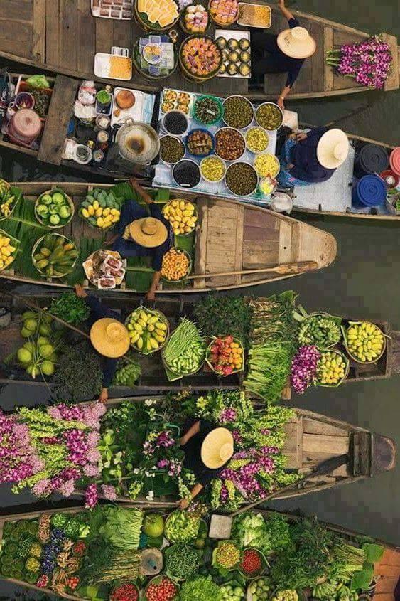 #Tayland pazardan bir manzara. https://t.co/2JmVVj4ilo