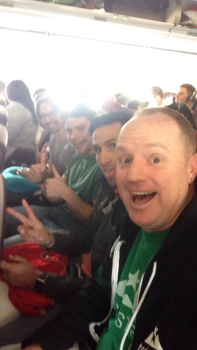 Flying the 10 CEOs of #VirginMediaTechstars from London to SF and Denver for an epic 48 hour tour. #techstars ✈️ https://t.co/OGKAXsfYni