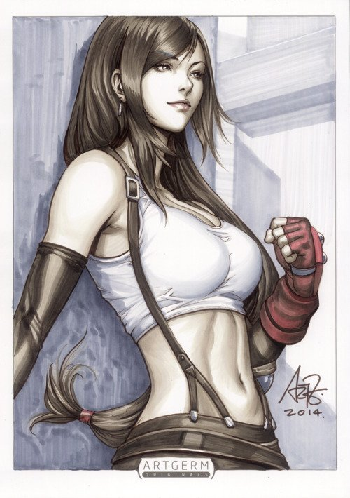 Tifa Lockhart par Artgerm https://t.co/55fTl9Gatt