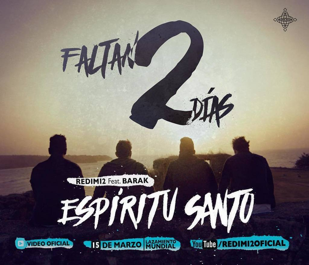 Solo Faltan 2 Días para el estreno mundial de: #Espiritusanto video oficial Feat @grupobarak  ayúdame a difundir la… https://t.co/QySw64RNbm