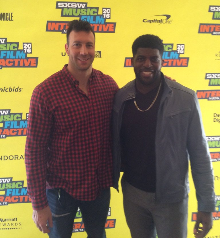 Connor Barwin and Emmanuel Acho share their expertise on panels at SXSports #sxsw https://t.co/f39md3VwL9