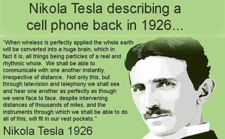 Tsla describing cellpohones circa 1926  https://t.co/3T8RRRW5UR https://t.co/oGP98xZ0p9