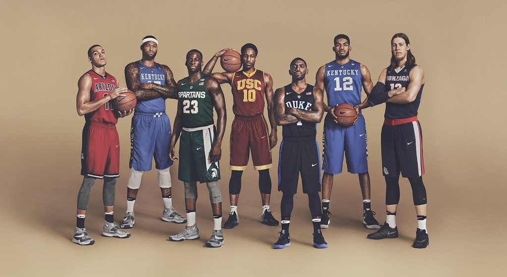 .@NikeBasketball representing #MarchMadness https://t.co/s2NvlVDJNT