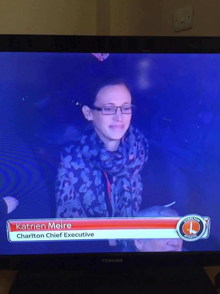 "@CAFCofficial excuse me?! ""club is extremely saddened"" the #CAFC CEO Katrien Meire is smiling, she does not care https://t.co/08Lik5KXXc"