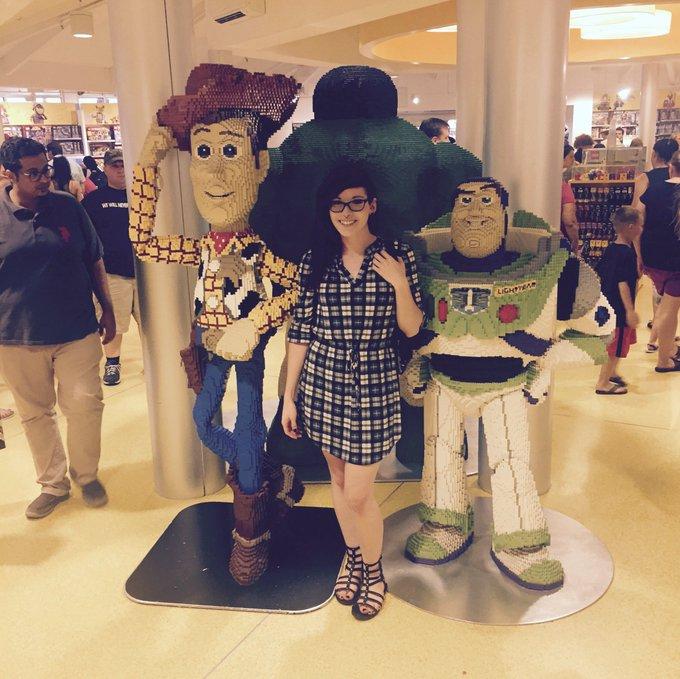 Creepers be creepin'. ? Also, Lego Woody and Buzz! https://t.co/jJhuKcUG6U