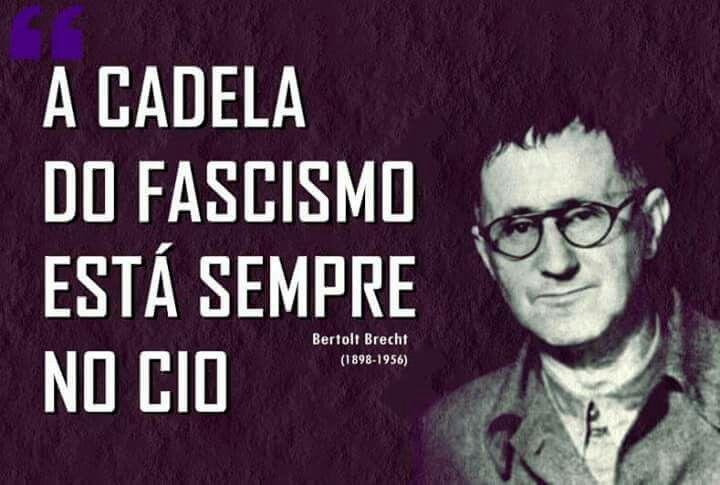 Resumo do 13 de março, segundo Bertolt Brecht https://t.co/ygGnOyj4IS