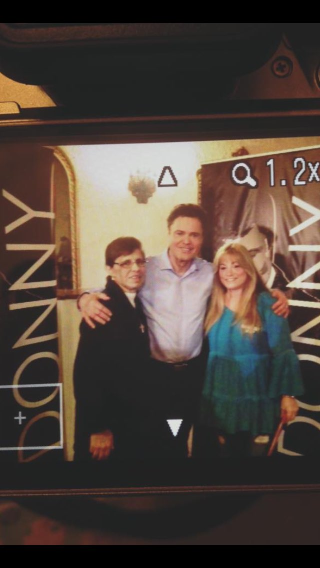 Donny osmond st george theatre staten island ny on 3 for 13 a table theatre saint georges