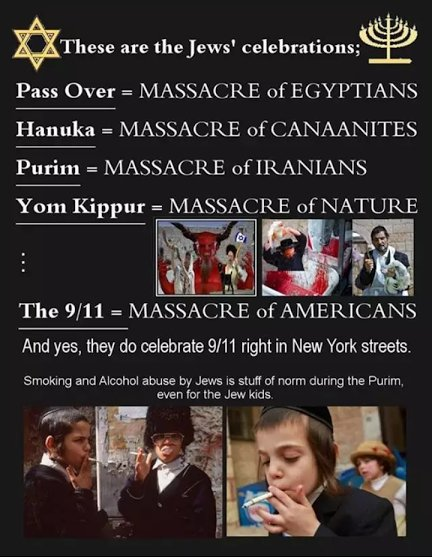 Hanuka is massacre of the Greeks! https://t.co/sBT6jMaKaB