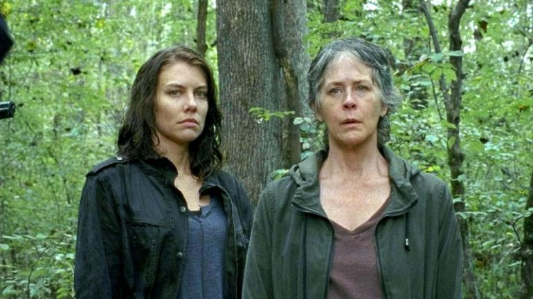 Great job tonight @McBrideMelissa & @LaurenCohan !!!!!! #TeamCarolMaggie #TheWalkingDead https://t.co/D2D9roMAt2