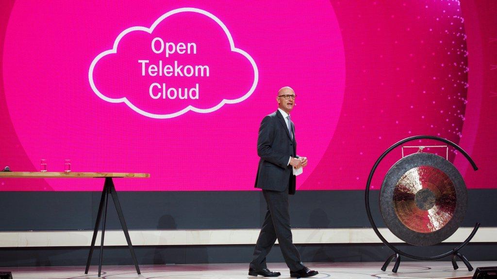 .@deutschetelekom launches #OpenTelekomCloud together with @Huawei. #CeBIT https://t.co/nlspTBswdX