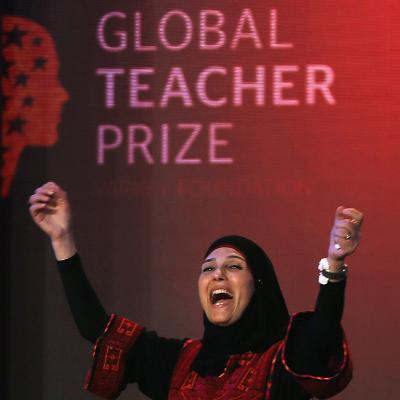 Palestinian Woman Wins $1 Million Global Teacher Prize via https://t.co/RjLaJfmqJv https://t.co/M734fEMyQC https://t.co/lv763WNv7U