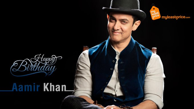 wishes Mr. Perfectionist Aamir Khan a very Happy Birthday!!  to wish him!