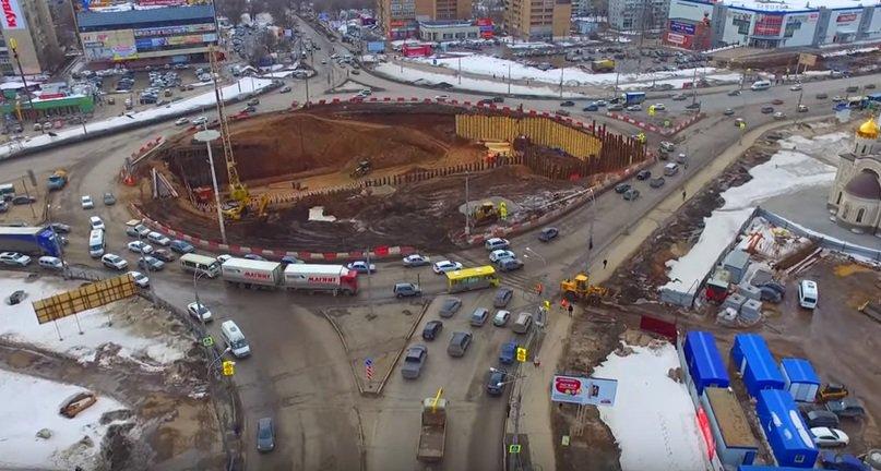 Московское шоссе и проспект кирова самара 2018 дата открытия