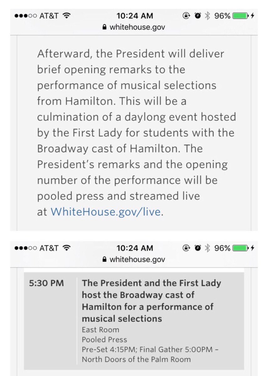 Per https://t.co/JmKVTkigxQ, part of the #Bam4Ham stuff will be streamed live later today. Looks like 5:30pm ET. https://t.co/8RPU3Tz4GR