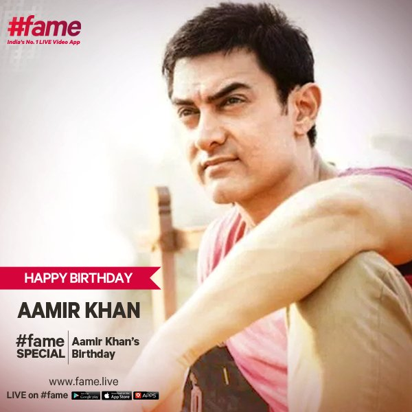 Here s wishing Mr. Perfectionist a happy birthday. Watch Aamir Khan Special all day on