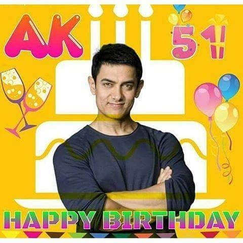 Happy birthday to you aamir khan
