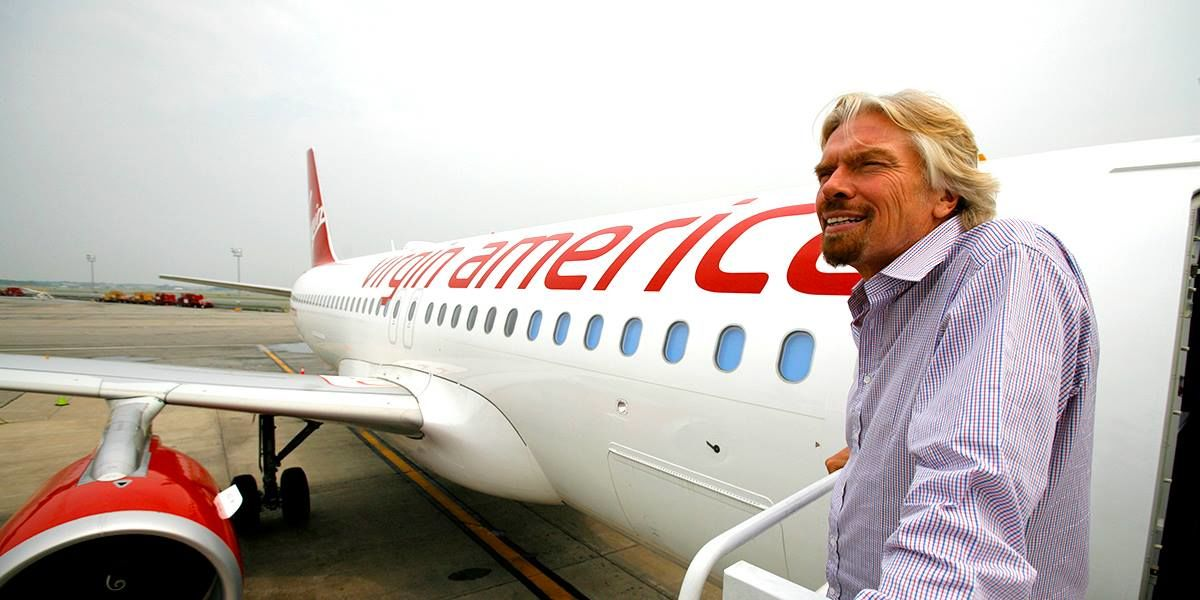 RT @Virgin: Livestream: @RichardBranson blazes a new trail with @VirginAmerica