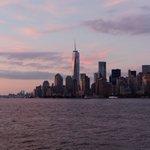 Sunset over Manhattan! #NYC #NewYork #manhattan https://t.co/WZ6a64wXyY