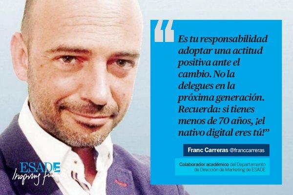 A la conquista de los 'millenials': un debate en @eshowesp con @franccarreras https://t.co/xkBFUi1KKJ #eShowBCN16 https://t.co/GWpcVtwJAr