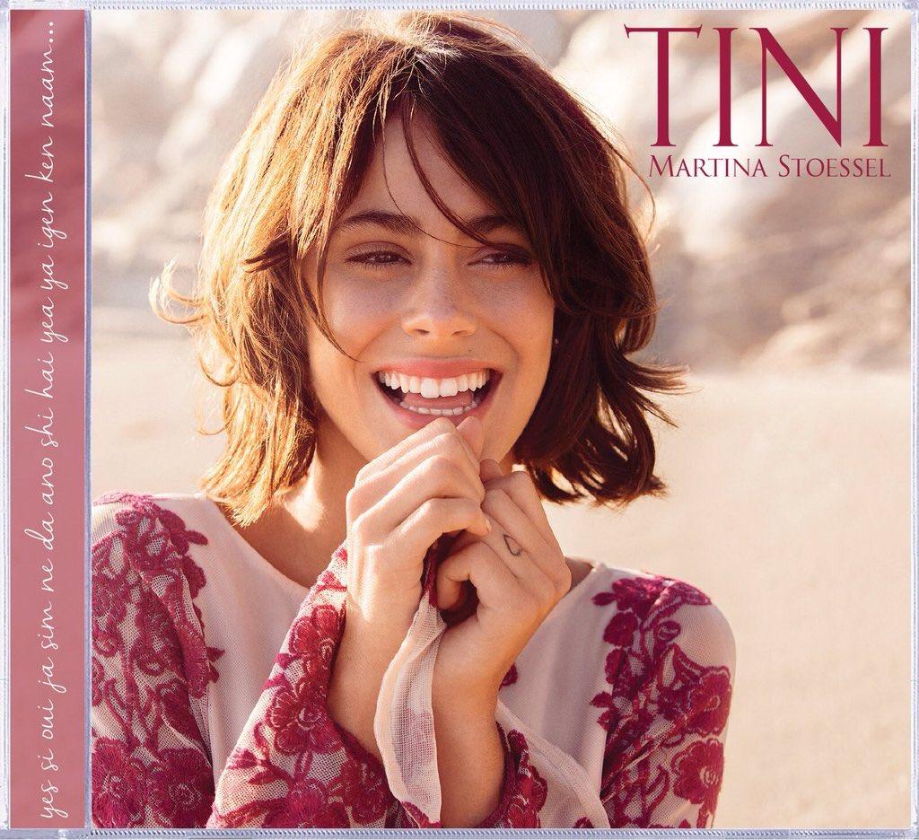 Toda la suerte del mundo @TiniStoessel con tu primer Disco solista! El primero de muchos éxitos! Te quiero!