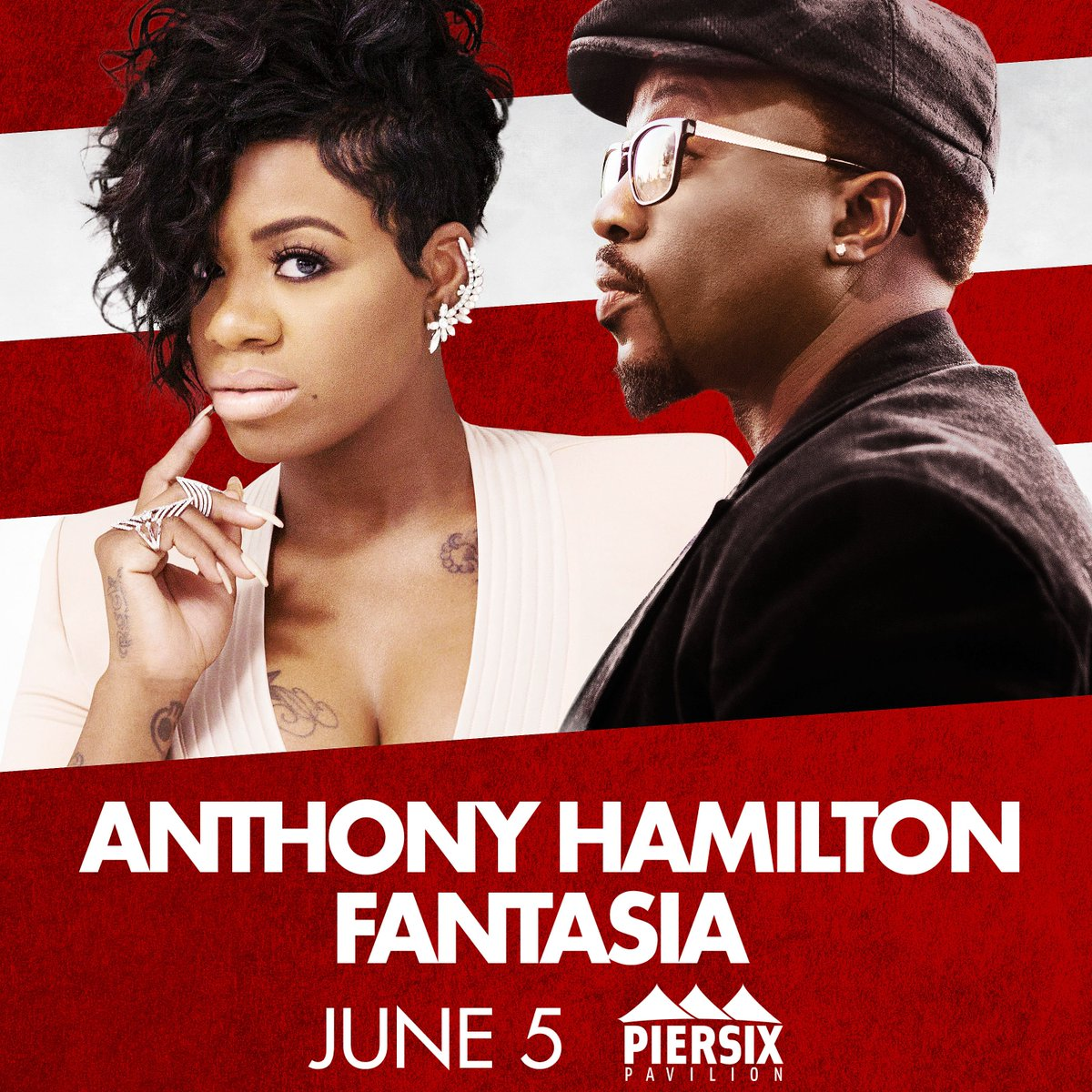 **JUST ANNOUNCED** 2nd show added @HamiltonAnthony & @TasiasWord June 5 - tix on sale this Friday 10 AM https://t.co/vRstrzZAvI