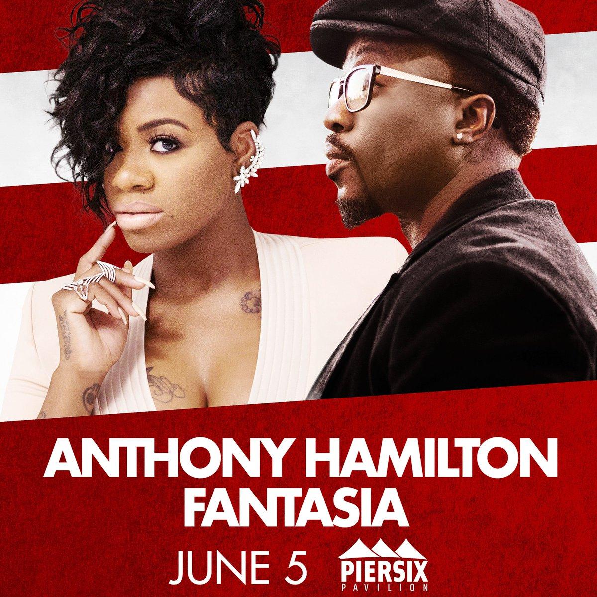 **JUST ANNOUNCED** 2nd show added @HamiltonAnthony & @TasiasWord June 5 - tix on sale this Friday 10 AM https://t.co/vRstrzZAvI