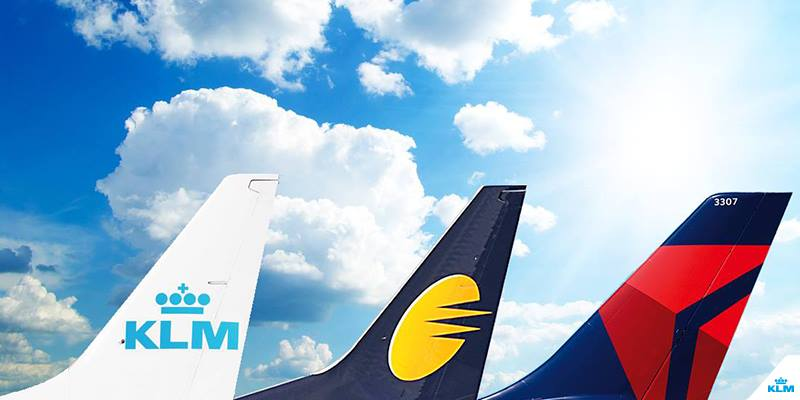 .@jetairways @Delta and KLM team up in a strategic codeshare partnership.