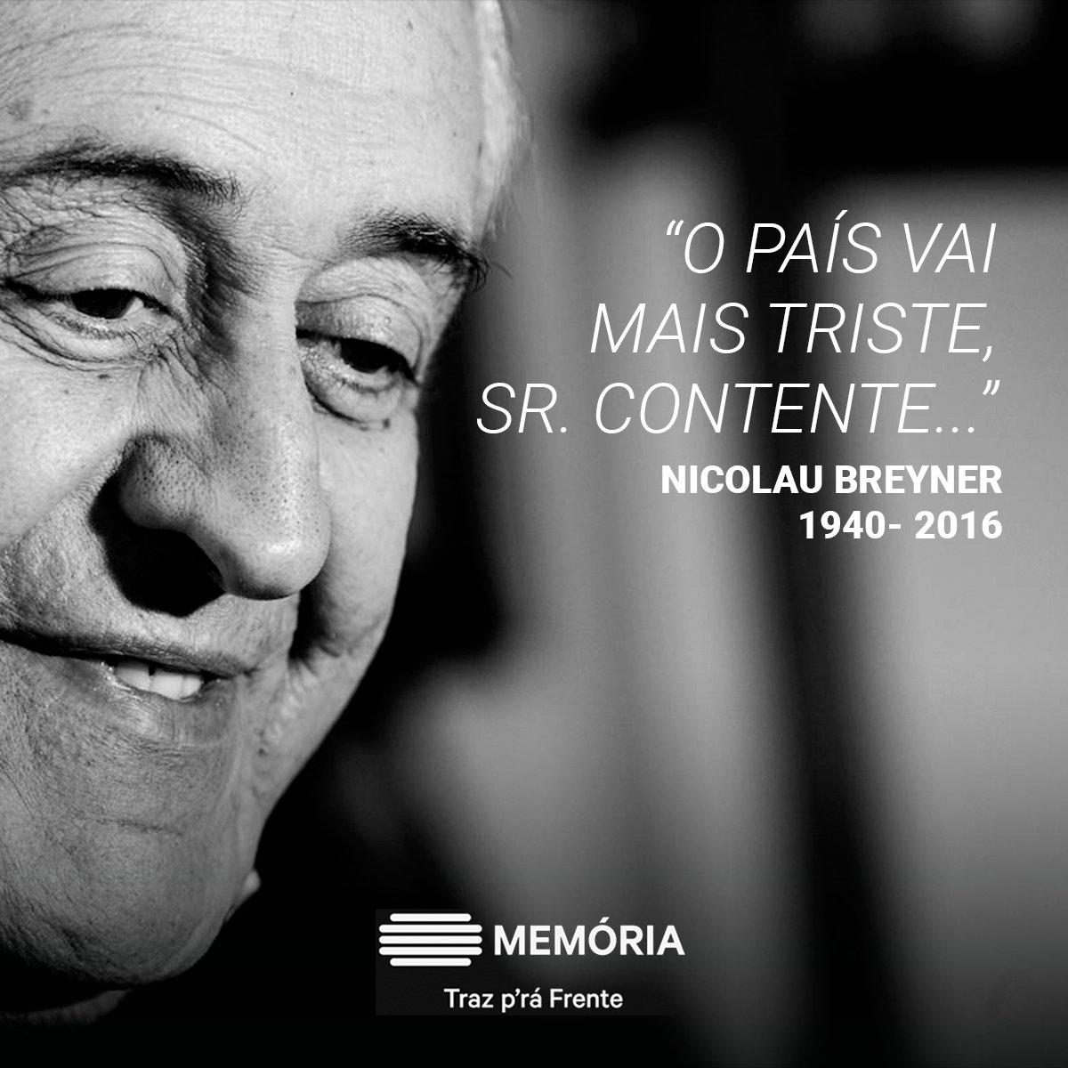 Até sempre. #NicolauBreyner https://t.co/cxbuVK7Ms7