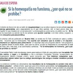 Image of homeopatía, homeopatia from Twitter
