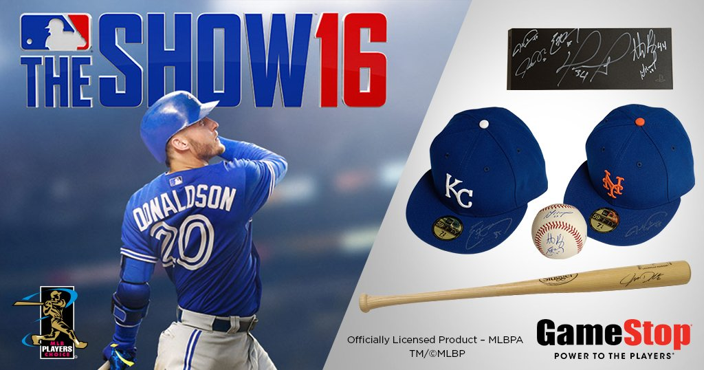 Don't strike out. Retweet to enter. @MLBTheShow #MLBMondays #Sweepstakes Rules: https://t.co/yGe0omP8AV https://t.co/aVnbZmGMqY