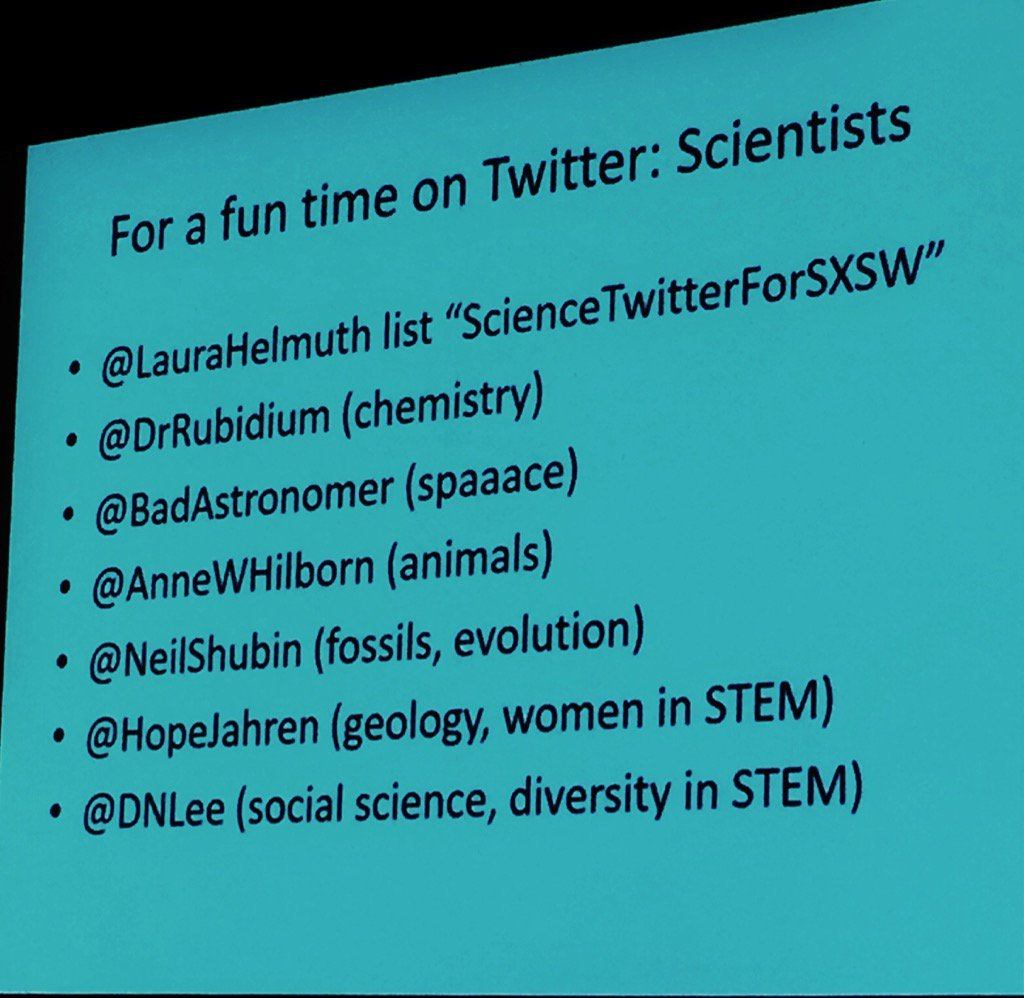 Want to find good #science on Twitter? Here's who @laurahelmuth of @NatGeo says to follow cc @richkottmeyer https://t.co/kL6MjPgkHu