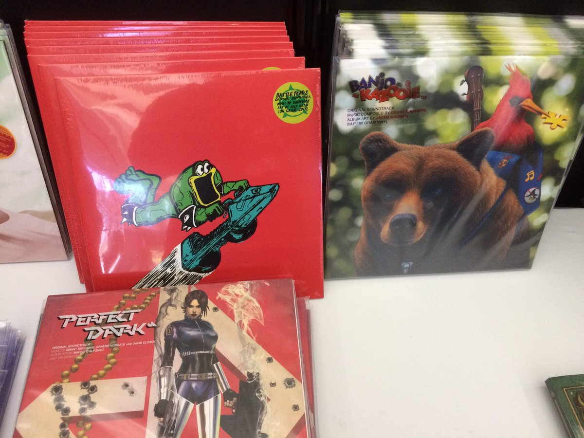 OMG - @RareLtd vinyl on sale at the GDC shop! https://t.co/QjpOz8fOpO