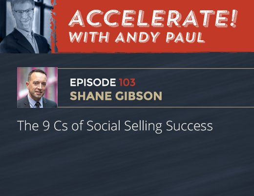 "My interview on @AndyPaulSales show on the ""9 C's of Social Selling"" https://t.co/GiKk2pKwc1 #socialselling https://t.co/vUqoU94Ygf"