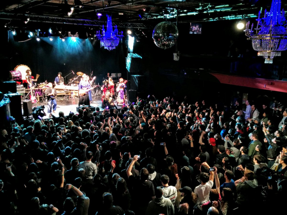 Super terrible image of @WagakkiBand's super awesome NYC show! https://t.co/yOhAifePzR