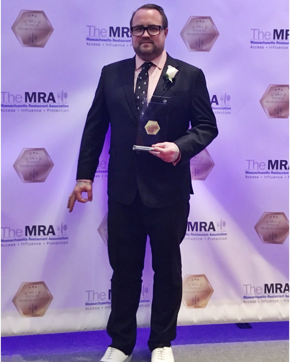.@Jamiebiss named Executive Chef of the Year by The Massachusetts Restaurant Association!