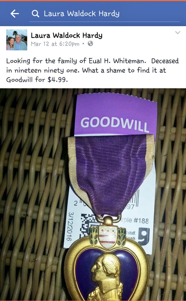 Help her find his family