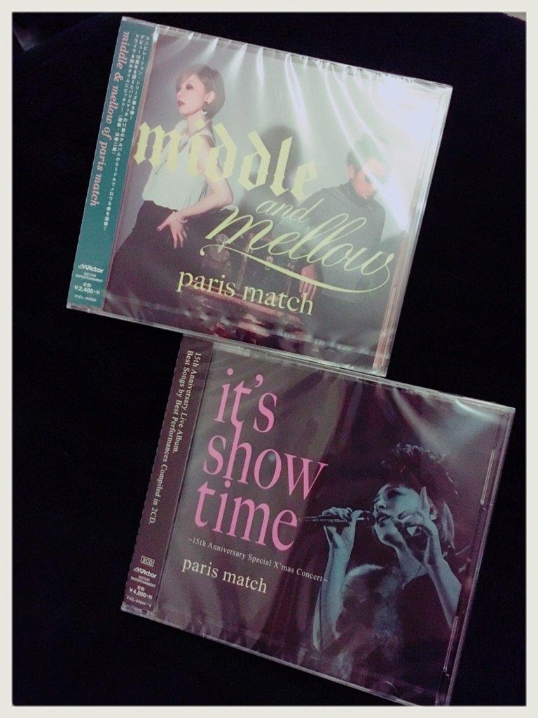 ライブアルバム「it's show time」とコンピレーションアルバム「middle&mellow」、明日3/16発売! https://t.co/dBxL2oFnZ0