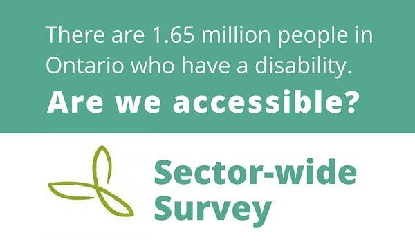 Is your #nonprofit #accessible? Sector-wide survey! Deadline Mar. 27 https://t.co/5wNnTjfvuA #EnAbleONT https://t.co/4vulw1QmpA