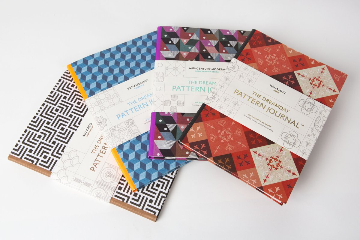 #LKPcomp! We're giving away a new release each month - first up for March: #Dreamday Pattern Journals. RT & Follow! https://t.co/uHVkQX2KY4