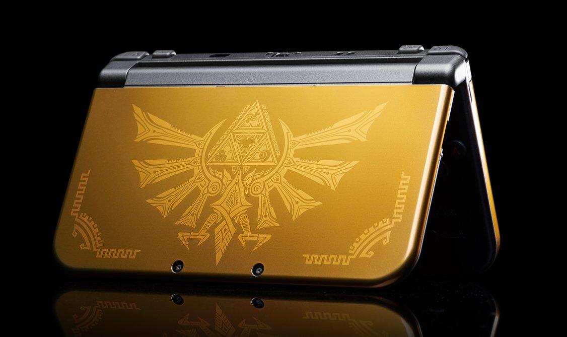 Gagnez cette new 3DS XL édition limitée Hyrule !  RT + follow !  Fin du concours le 29/03/16 à 14h https://t.co/HMxda2Uq7A