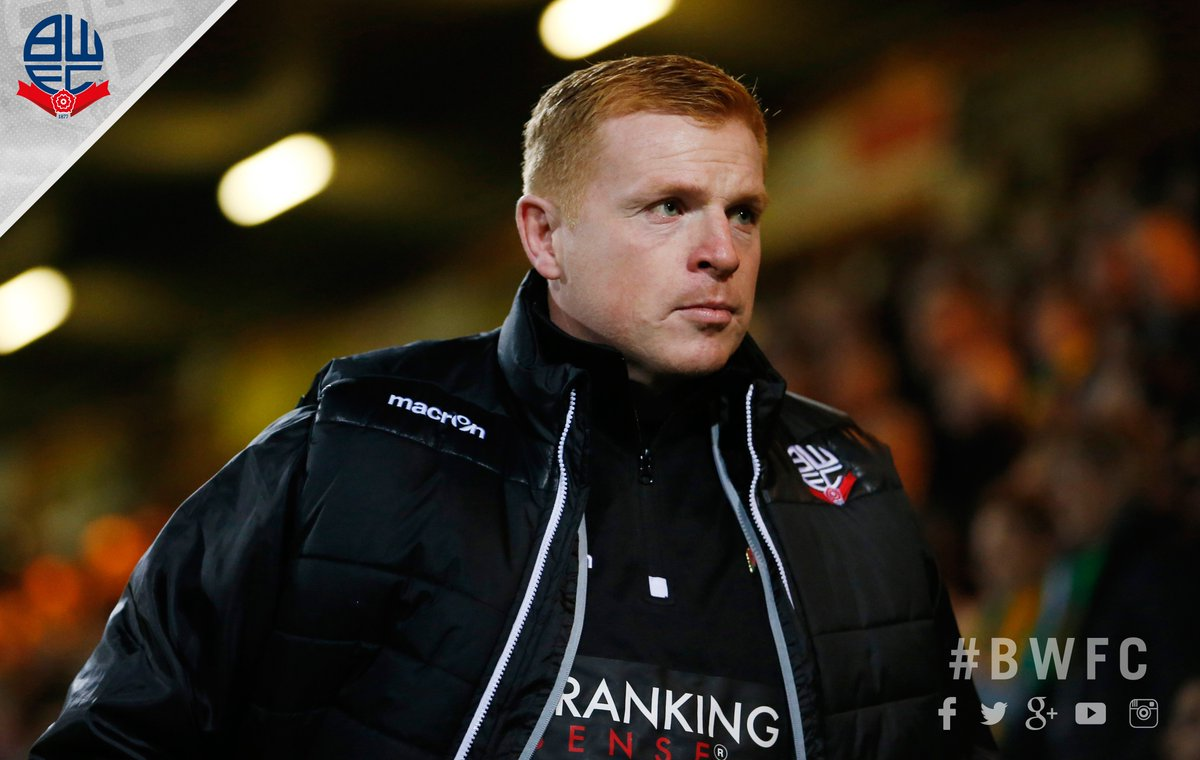 Club statement. #BWFC part company with manager Neil Lennon by mutual consent.