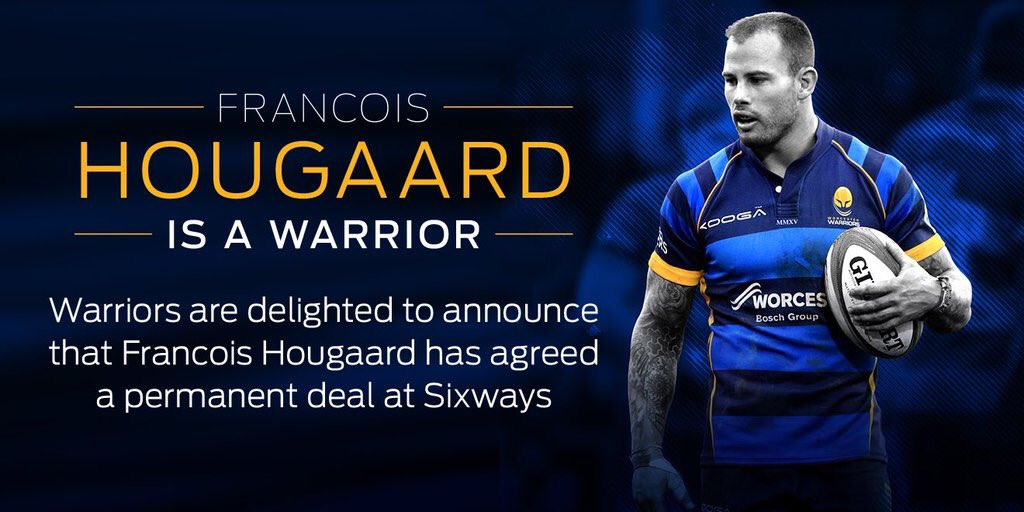 Very excited to make @WorcsWarriors my home! #WeAreWarriors