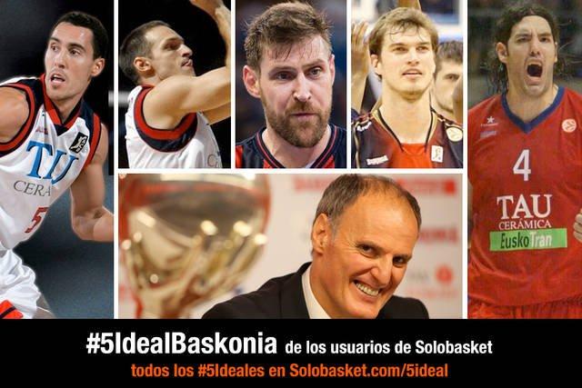 El #5IdealBaskonia de los lectores:Prigioni,Rakocevic, Nocioni, Scola y Splitter.Dusko coach https://t.co/k6ALYOsy3A https://t.co/lurJyQAV3Z